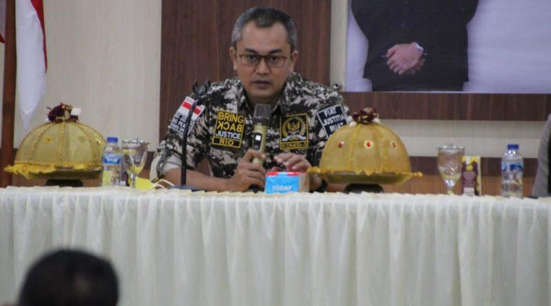 Polres Bone Terima Kunjungan Kerja Reses Komisi III DPR RI